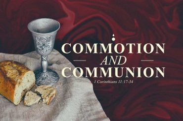 Commotion and Communion
