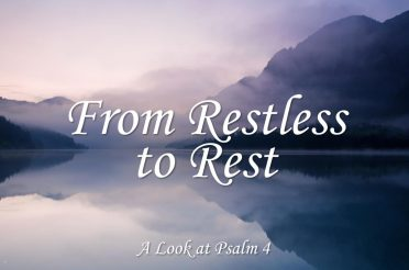 From Restless To Rest